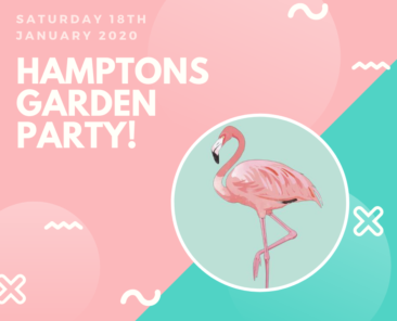 hamptons garden party!